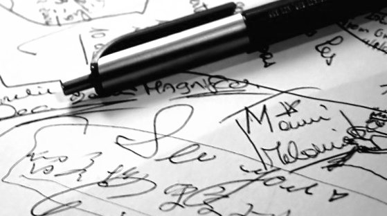 The Handwriting Gap