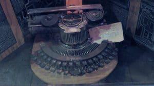 1910s typewriter