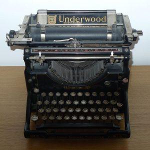 1920s Underwood SE layout
