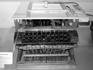 1864 Schreibmaschine Peter Mitterhofer