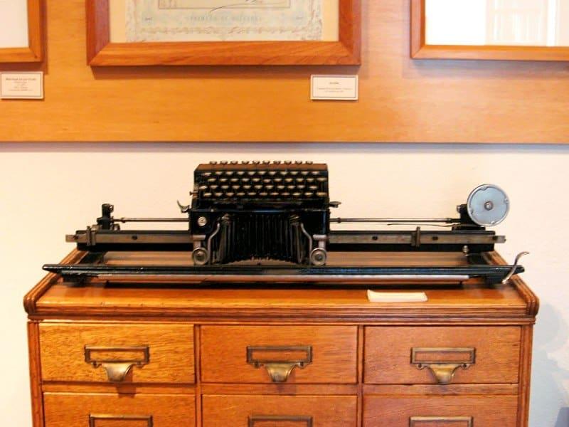 Typewriter Mining Museum Pachuca