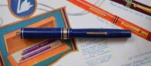 Lever filler pen