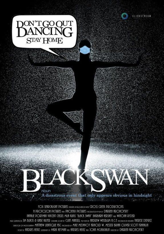 black swan movie, coronavirus