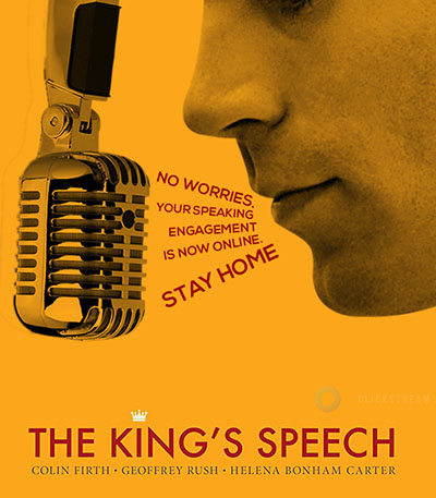King's speech alternative movie poster