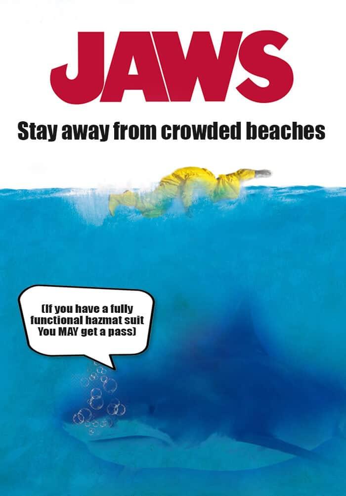 Jaws alternative movie