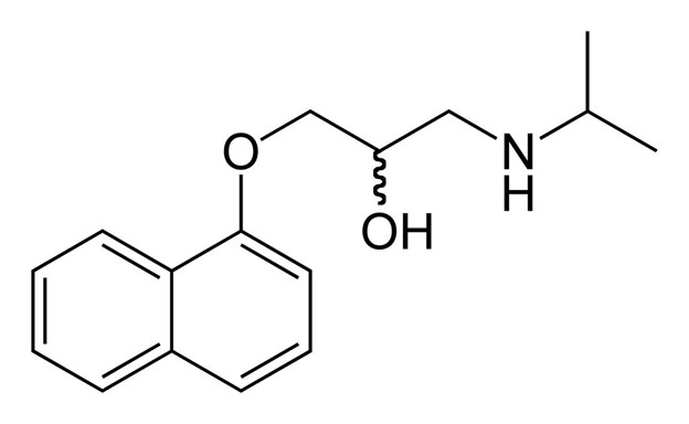 Propranolol for anxiety